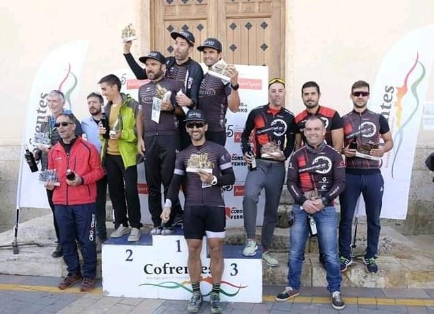 Destacada actuación de la Asociación Ciclista BTT de L'Alfàs del Pi   en el 6º triatlón de Cofrentes.