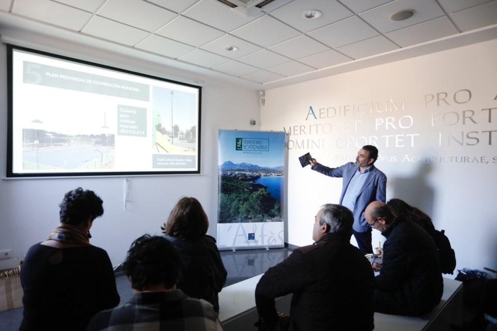 Arques cifra en más de 24 millones de euros el plan de inversiones de l'Alfàs para los próximos 4 años