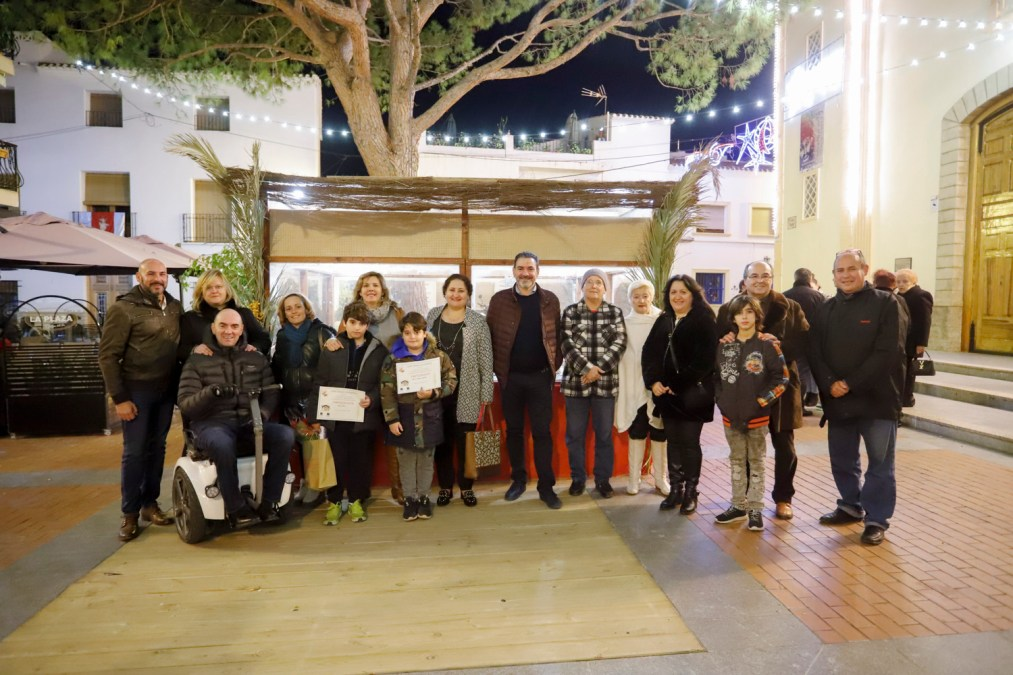 Inaugurado el Belén municipal de la plaza Mayor