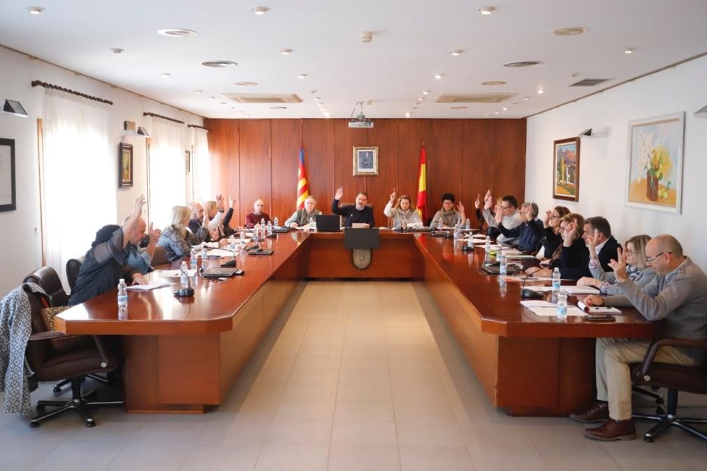 El pleno de l'Alfàs del Pi aprueba la adhesión del municipio a la Alianza de Ciudades por el Desarrollo Sostenible