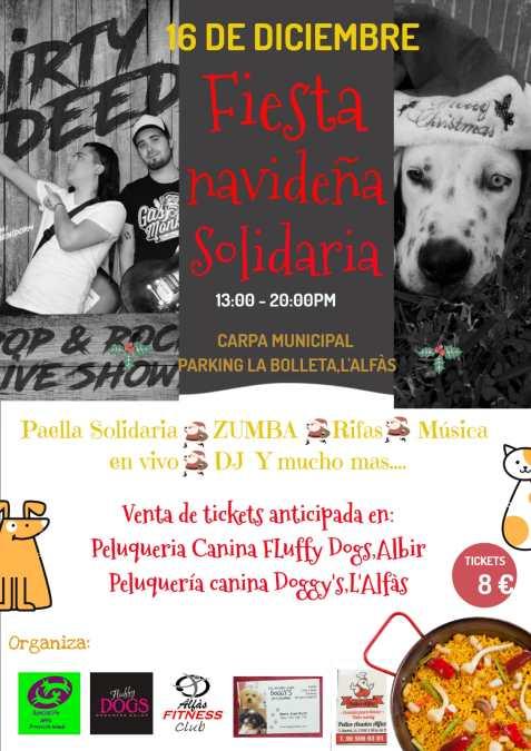 La Asociación de Protección Animal de l'Alfàs organiza una fiesta solidaria