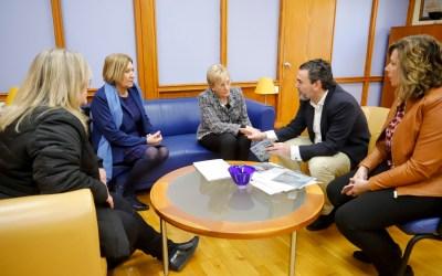 El Ayuntamiento de l'Alfàs y la conselleria de Sanidad colaborarán en el fomento del deporte saludable