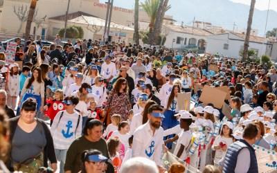 La comunidad escolar alfasina celebra el carnaval con dos desfiles