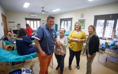 El maratón de donación de sangre y médula de l'Alfàs del Pi se convierte en una nueva fiesta de la solidaridad