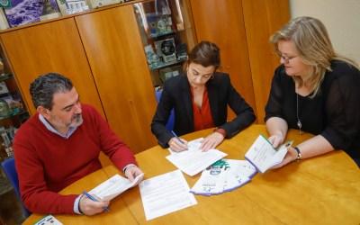 El Ayuntamiento de l'Alfàs del Pi renueva su colaboración con Anémona, Aspanion e Integra