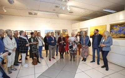 Exposición colectiva en l'Alfàs de 'Kunstgruppen' el Club de Pintura Noruego