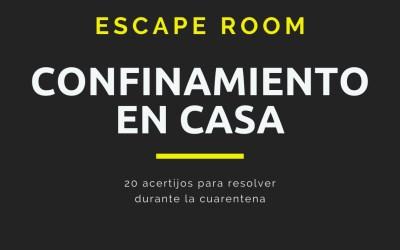 Juventud lanza un Escape Room para realizar en casa durante el confinamiento