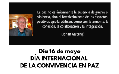 La concejalía de Cooperación celebra el Día Internacional de la Convivencia en Paz
