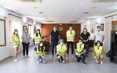Arques agradece el trabajo de los jóvenes voluntarios en la red de Alicante Gastronómica Solidaria