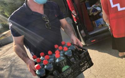 El Club Krav Maga Costa Blanca dona más de 500 kilos de alimentos a Cruz Roja de l'Alfàs