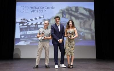 El Festival de Cine de l'Alfàs vive una de las galas más emotivas de su historia