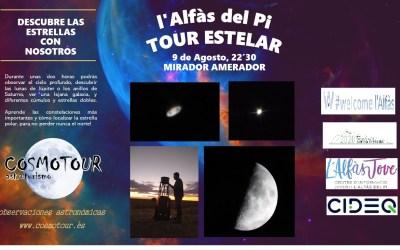 El Cosmo Tour llega a l'Alfàs gracias a las Concejalías de Medio Ambiente y Juventud