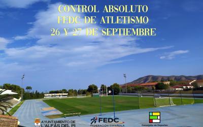 L'Alfàs acoge este fin de semana el Control Absoluto de Atletismo 'sin barreras'