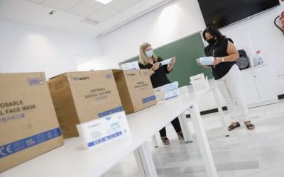 La Subdelegación del Gobierno entrega 6.000 mascarillas al Ayuntamiento de l'Alfàs