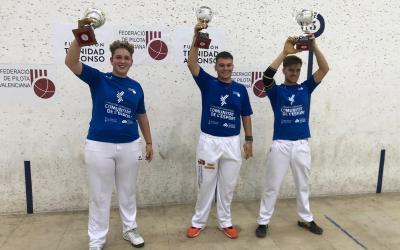 Pere Buigues y Dani Olmedo se proclaman ganadores de la Final del Circuito Sub18 de Escala i Corda de Pilota