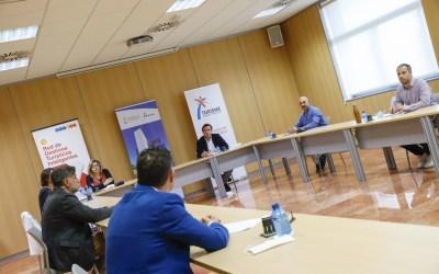Herick Campos se interesa por los planes de l'Alfàs como Destino Turístico Inteligente y saludable
