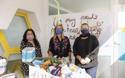 El CEI El Nano inicia una campaña de recogida de ropa y alimentos para el Voluntariado Social de l'Alfàs