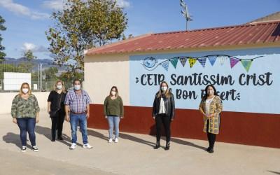 Escolares de l'Alfàs promueven una campaña para recopilar alimentos para el Voluntariado