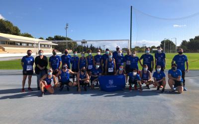 Runners Montemar participan desde l'Alfàs en la carrera virtual solidaria contra el cáncer de páncreas