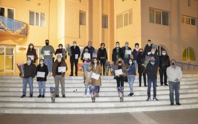 Ximo Sirvent, Juan Faranco y L'Estació de les Gominoles ganan los concursos navideños de l'Alfàs