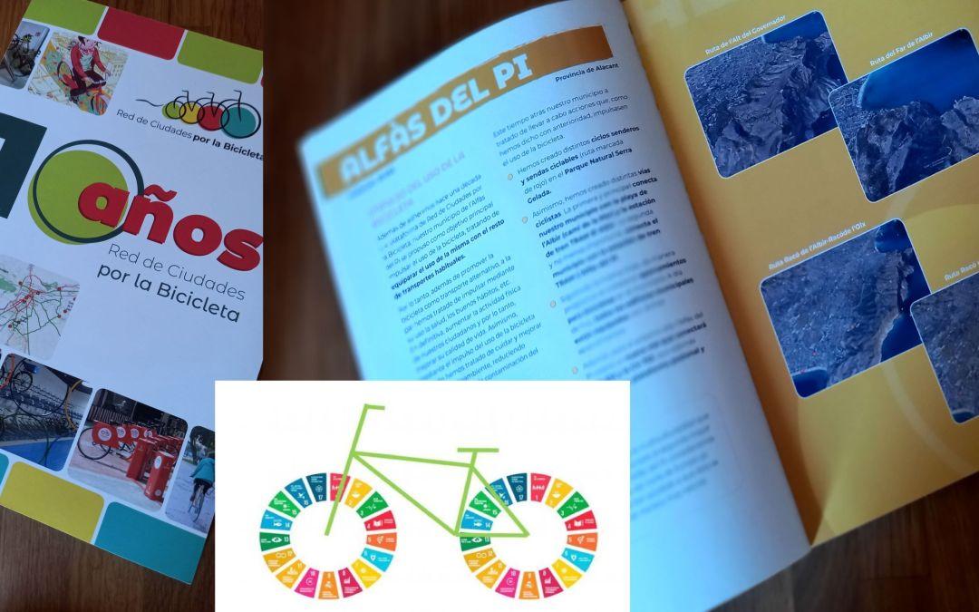L'Alfàs del Pi ha sido incluido en la guia de la Red de Ciudades por la Bicicleta de la que forma parte