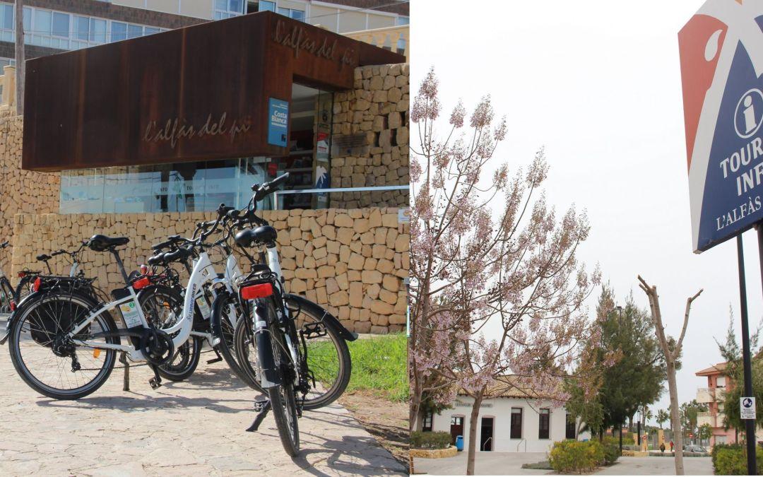 El Ayuntamiento de l'Alfàs del Pi ha renovado su colaboración el programa Tourist Info