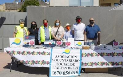 L'Alfàs celebra una jornada de promoción de la salud y recauda fondos para el Voluntariado Social