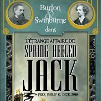 Burton & Swinburne - T01 - L'Étrange affaire de Spring Heeled Jack : Mark Hodder