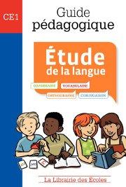 Livre Etude de la langue de La Libraire des écoles