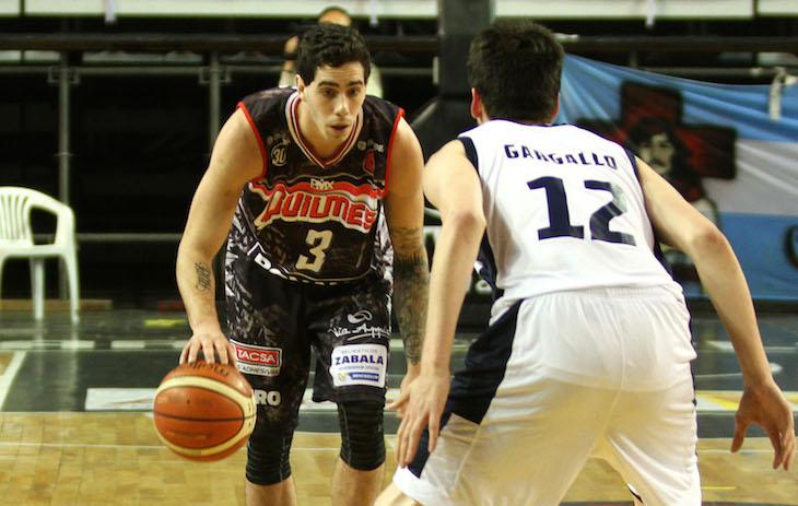 Luca Vildoza y Lucas Gargallo (Foto: LNB Contenidos)