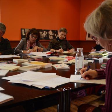 Formation des bénévoles : Atelier d'écriture à la Maison Gueffier
