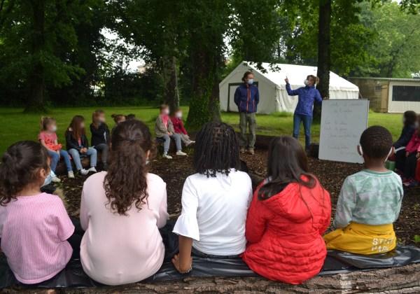 Sensibilisation autour des arbres avec l'école Jean Moulin