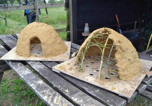 La Colline des frettis : Création d'un four de potier gallo-romain