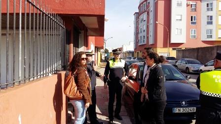 Visita edificio Ayudantía de Marina