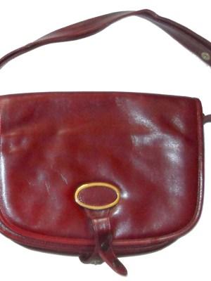 Harrods Italian leather hand bag shoulder bag