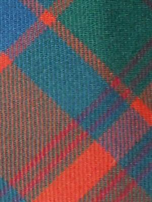 Edgar of Scotland tartan wool tie