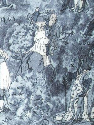 Musketeers Silk Tie