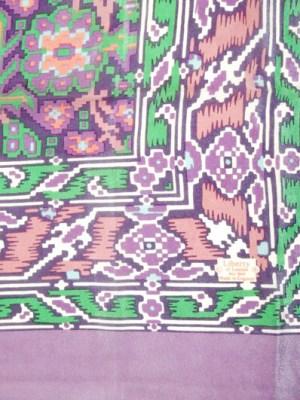 Liberty of London Ikat Design Silk Scarf