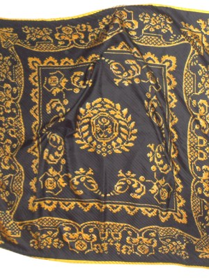 Pleated silk scarf from the Metropolitan Museum of Art