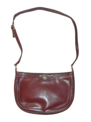 Danel Spain chestnut leather shoulder bag