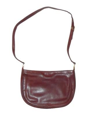 Danel Spain chestnut leather shoulder bag