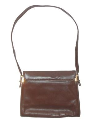 Vintage Harmony brown leather shoulder bag