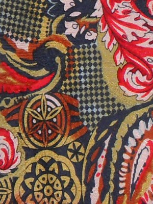 Zegna floral and paisley design silk tie