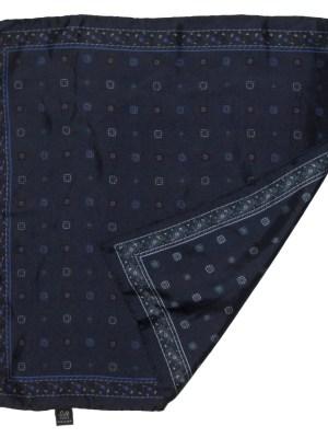 Paisley design vintage pocket square