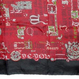 Script design scarf