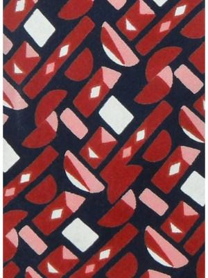 Vintage Christian Dior bold design silk tie