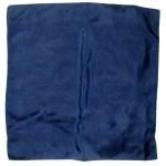 Macclesfield navy silk pocket square