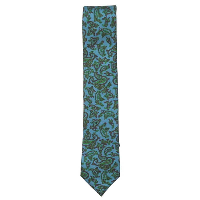 Cerruti 1881 paisley design silk tie