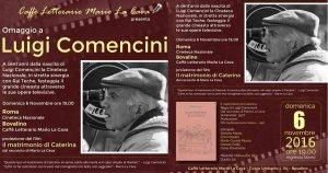 Luigi Comencini Omaggio @ Caffe Letterario Mario la Cava | Bovalino | Calabria | Italia