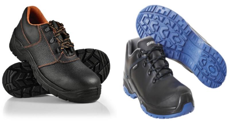 el calzado de seguridad incorpora suelas antideslizantes para trabajar